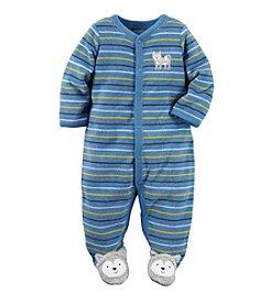 Carter's® Baby Boys Striped Husky Footie