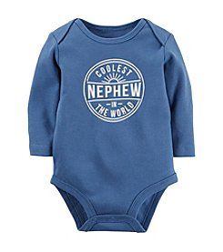 Carter's® Baby Boys Long Sleeve Coolest Nephew Bodysuit