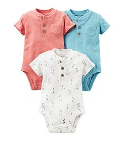 Carter's® Baby Boys 3-Pack Assorted Short Sleeve Bodysuits