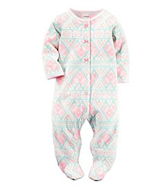Carter's® Baby Girls' Geo Footie