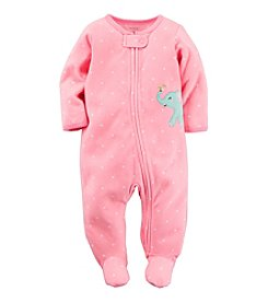 Carter's® Baby Girls' Dotted Elephant Footie
