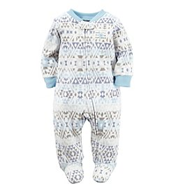 Carter's® Baby Boys Geo Footie