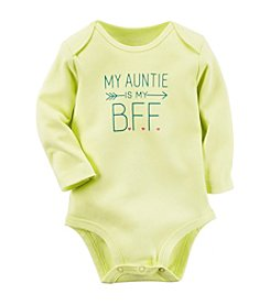 Carter's® Baby Girls' Long Sleeve Auntie's Bff Bodysuit