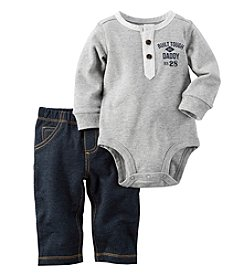 Carter's® Baby Boys 2-Piece Built Tough Bodysuit And Pants Set