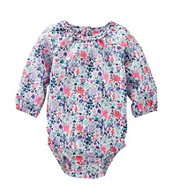 OshKosh B'Gosh® Baby Girls' Long Sleeve Floral Bodysuit