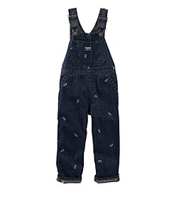 OshKosh B'Gosh® Baby Boys Football Schiffli Overalls