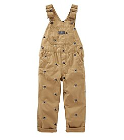 OshKosh B'Gosh® Baby Boys Airplane Schiffli Overalls