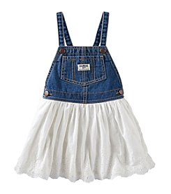 OshKosh B'Gosh® Baby Girls' Eyelet Skirt Jumper