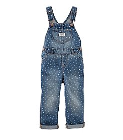 OshKosh B'Gosh® Baby Girls' Heart Printed Overalls