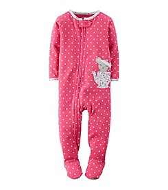 Carter's® Girls' 12M-4T One Piece Mouse In A Teapot Sleeper