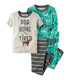 Carter's® Boys' 4-Piece Dog Gone Tired Pajama Set