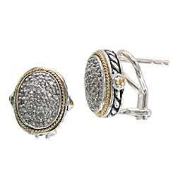 Effy® 925 Collection 0.35 ct. tw. Diamond Earrings in Sterling Silver