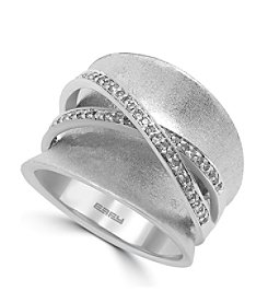Effy® 925 Collection 0.25 ct. tw. Diamond Ring in Sterling Silver