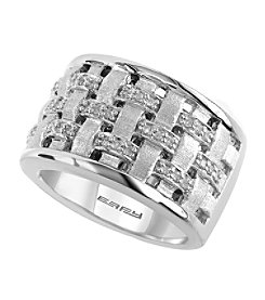 Effy® 925 Collection 0.19 ct. tw. Diamond Ring in Sterling Silver