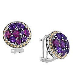 Effy® 925 Collection Multi Gemstone Earrings in Sterling Silver