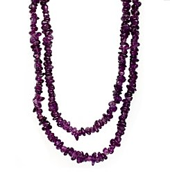 Effy® Amethyst Necklace in 14k Yellow Gold