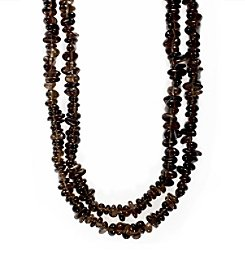 Effy® Smoky Quartz Necklace in 14k Yellow Gold
