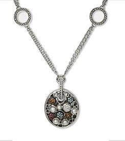 Effy® Multi Gemstone Necklace in Sterling Silver