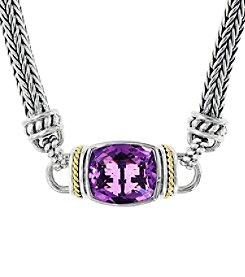 Effy® 925 Collection Amethyst Necklace in Sterling Silver