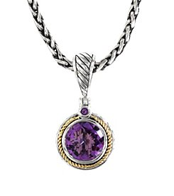 Effy® 925 Collection Amethyst Pendant in Sterling Silver