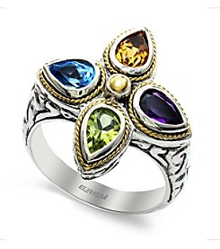 Effy® 925 Collection Multi Gemstone Ring in Sterling Silver