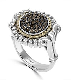 Effy® 925 Collection 0.42 ct. tw. Brown Diamond Ring in Sterling Silver