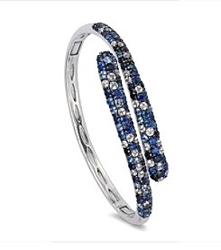 Effy® 925 Collection Shades of Blue Sapphire Bangle in Sterling Silver