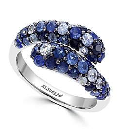 Effy® 925 Collection Shades of Blue Sapphire Ring in Sterling Silver