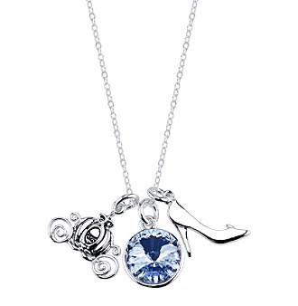 Disney® Cinderella Crystal Charm Necklace