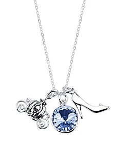 Disney® Cinderella Crystal Charm Necklace