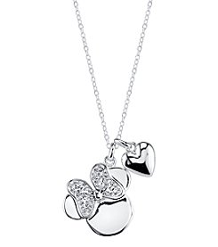 Disney® Minnie Mouse® Crystal Charm Necklace