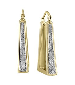 Effy® D'Oro Collection 0.43 ct. tw. Diamond Earrings in 14K Yellow Gold