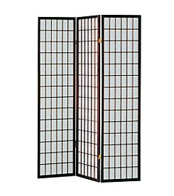 Acme Naomi 3-Panel Wooden Screen