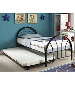 Acme Silhouette Twin Bed