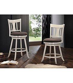 Acme Tabib White Swivel Chair