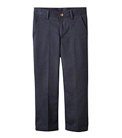 Nautica® Boys' 4-7 Flat Front Twill Pants