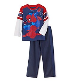 Spider-Man® Boys' 4-7 Long Sleeve Spider-Man Trico Pants Set