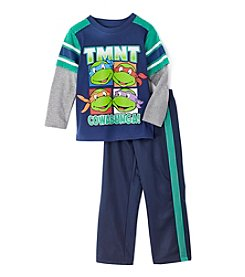 Teenage Mutant Ninja Turtles® Boys' 2T-7 Long Sleeve TMNT Trico Pants Set
