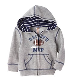 Mix & Match Baby Boys Daddy's Little MVP Fleece Hoodie