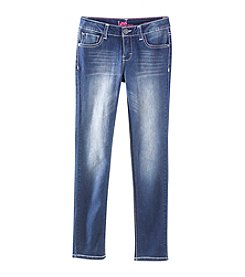 Lee® Girls' 7-16 Jewel Butterfly Back Pocket Skinny Jeans