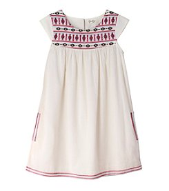 Jessica Simpson Girls' 7-16 Lorelie Embroidered Dress