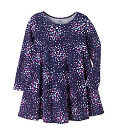 Mix & Match Girls' 2T-6X Long Sleeve Heart Empire Waist Dress