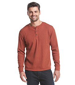 Ruff Hewn Men's Long Sleeve Thermal Henley