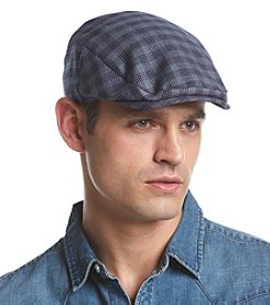 LAKE of the ISLES® Men's Blue Plaid Ivy Cap