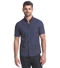 Michael Kors® Men's Multi Dot Print Short Sleeve Button Down Shirt