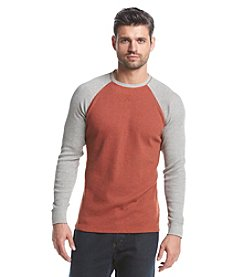 Ruff Hewn Men's Long Sleeve Thermal Colorblock Tee