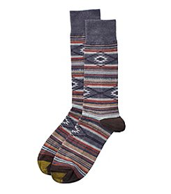 GOLD TOE® Men's Denim Stripe Dress Socks