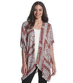 Ruff Hewn Printed Kimono