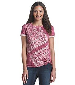 Ruff Hewn Side Tie T-Shirt