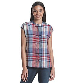 Ruff Hewn Dolman Plaid Tunic